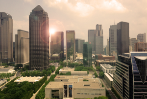 Big Hit Creative Group-Image of Downtown Dallas Skyline Photography