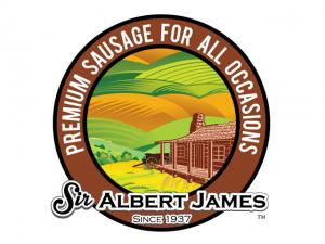 Sir Albert James Logo