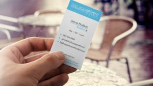 Business Card Design Dallas Texas Apartment Locator-Big Hit Creative Group