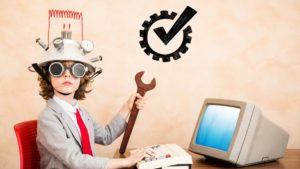 Blog Image-Child at work- Tips for Running a Successful Business