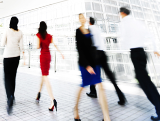 People in Motion- Image- 7 Trade Show Marketing Tips-Big Hit Creative Group