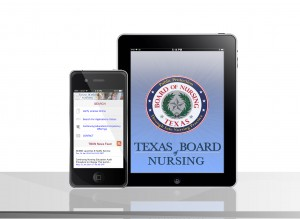 Texas Board of Nursing app photo