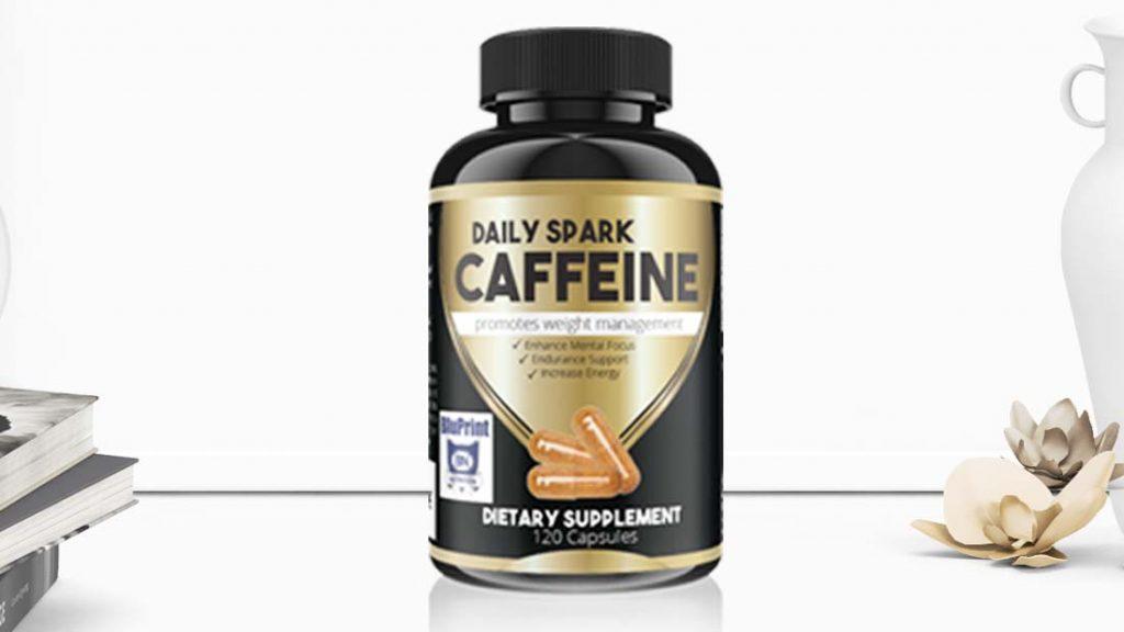 Caffeine Supplement Bottle-Package Design- Big Hit Creative Group