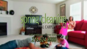 Dallas Texas Carpet Cleaner TV Commercial-Spring Cleaning Carpet Care-Big Hit Creative Group